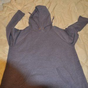 UNDER ARMOUR GREY AND RED LARGE HOODIE
